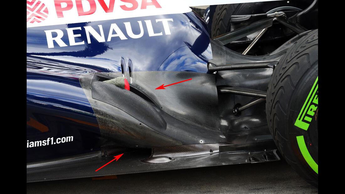 Williams F1 Technik 2013