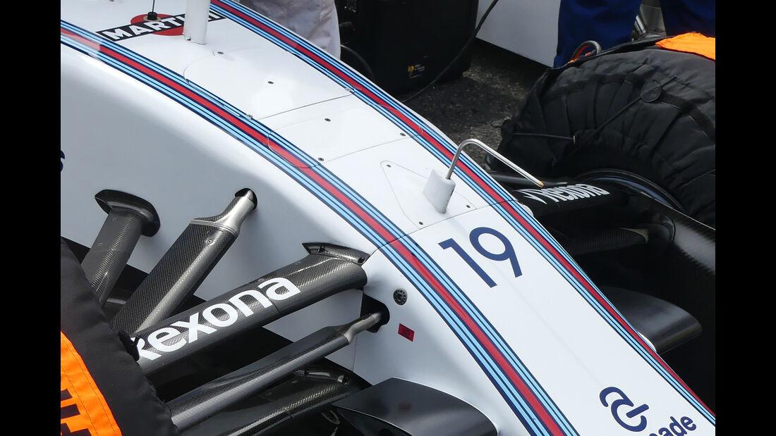 Williams - F1-Technik 2016