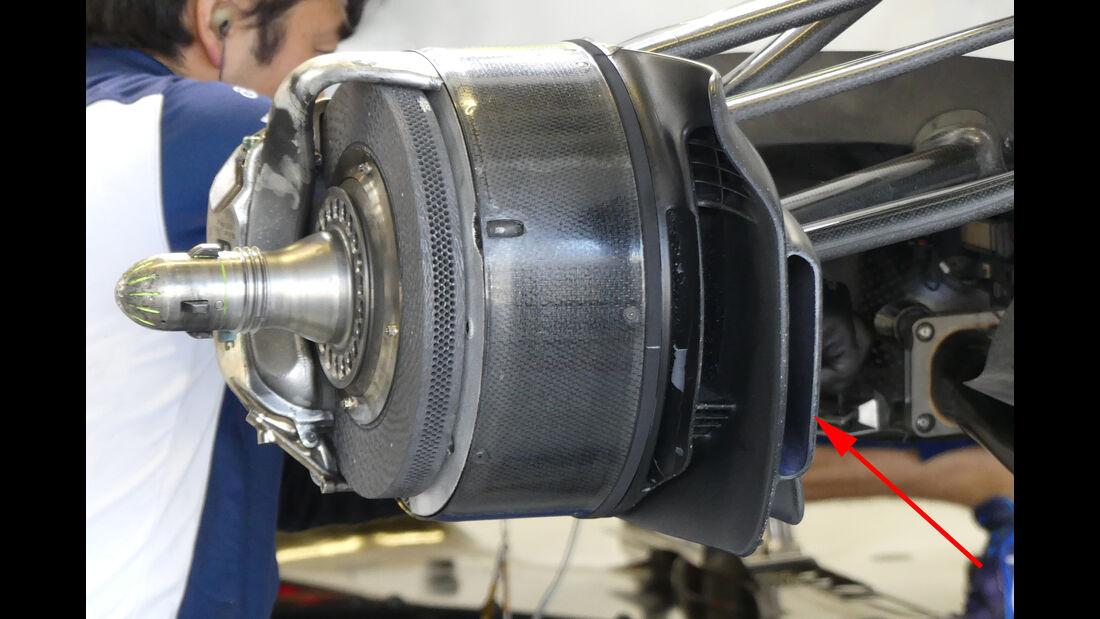 Williams - F1 Technik - GP Mexiko 2016