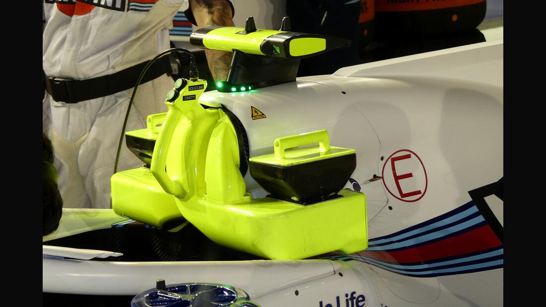 Williams - F1-Technik - Lüfter - GP Singapur 2018