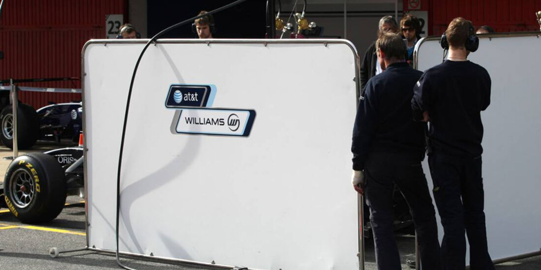 Williams F1-Test 2011