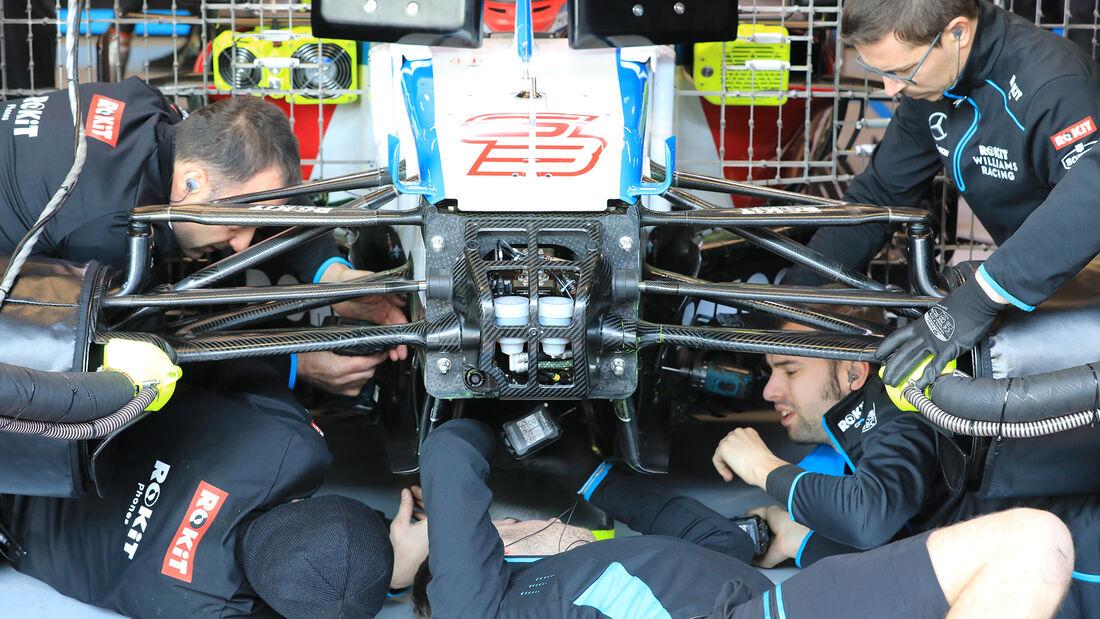 Williams - F1-Test - Barcelona - 20. Februar 2020