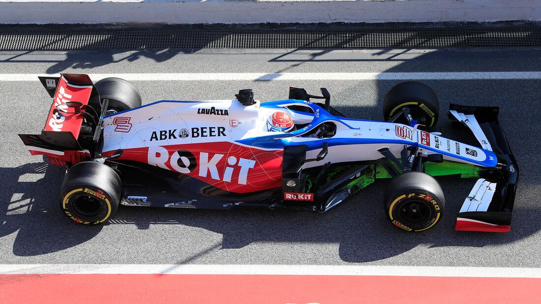 Williams - F1-Test - Barcelona - 2020
