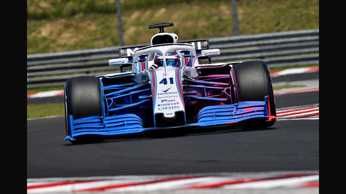 Williams - F1-Test - Budapest 2018