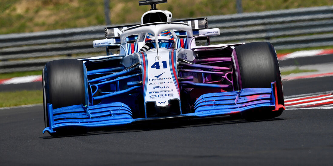 Williams - F1-Test - Budapest 2018