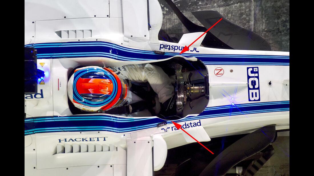 Williams - F1-Testfahrten - Abu Dhabi - 2017