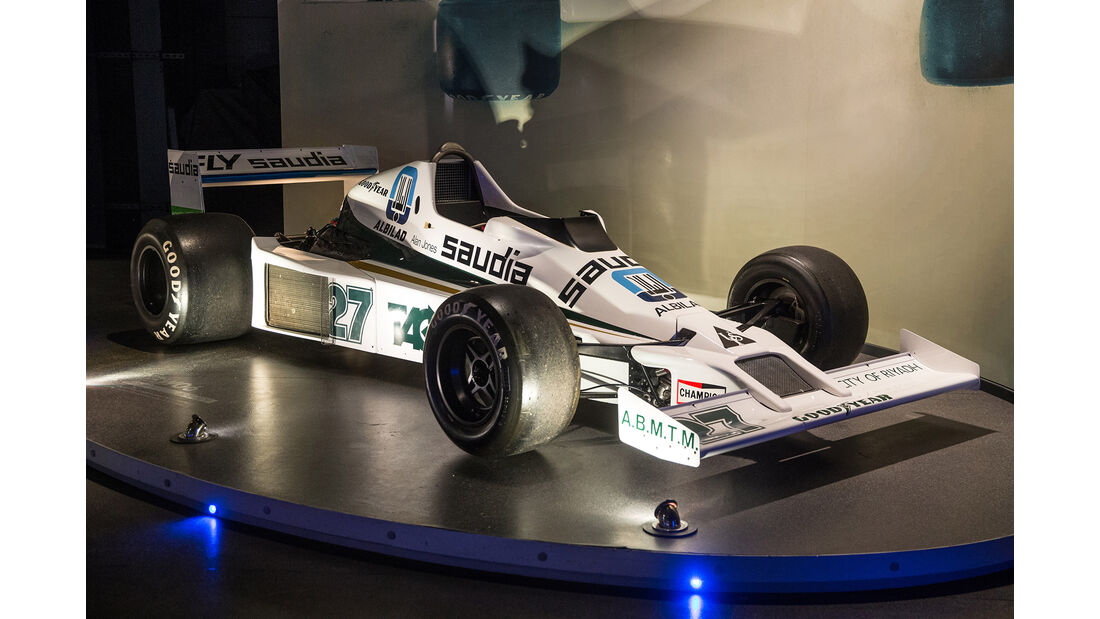 Williams FW06 - Museum - Lager - 2017