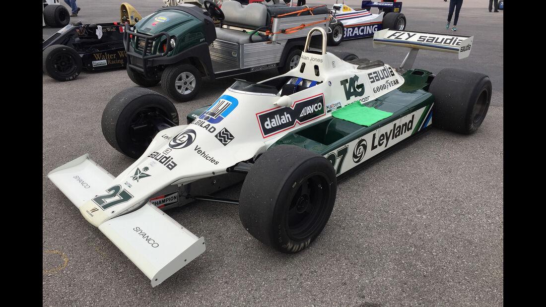 Williams FW07 B - F1 Klassiker - Austin - GP USA 2016