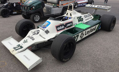 Williams FW07 B - F1 Klassiker - Austin - GP USA 2016