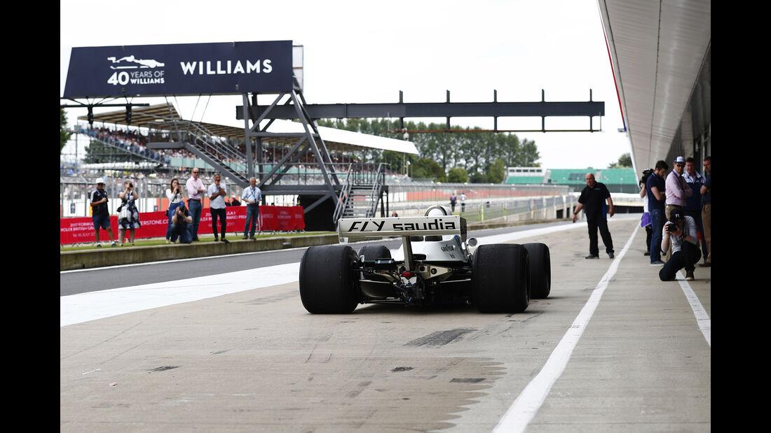 Williams FW07 - Williams-Jubiläum - Silverstone - 2017