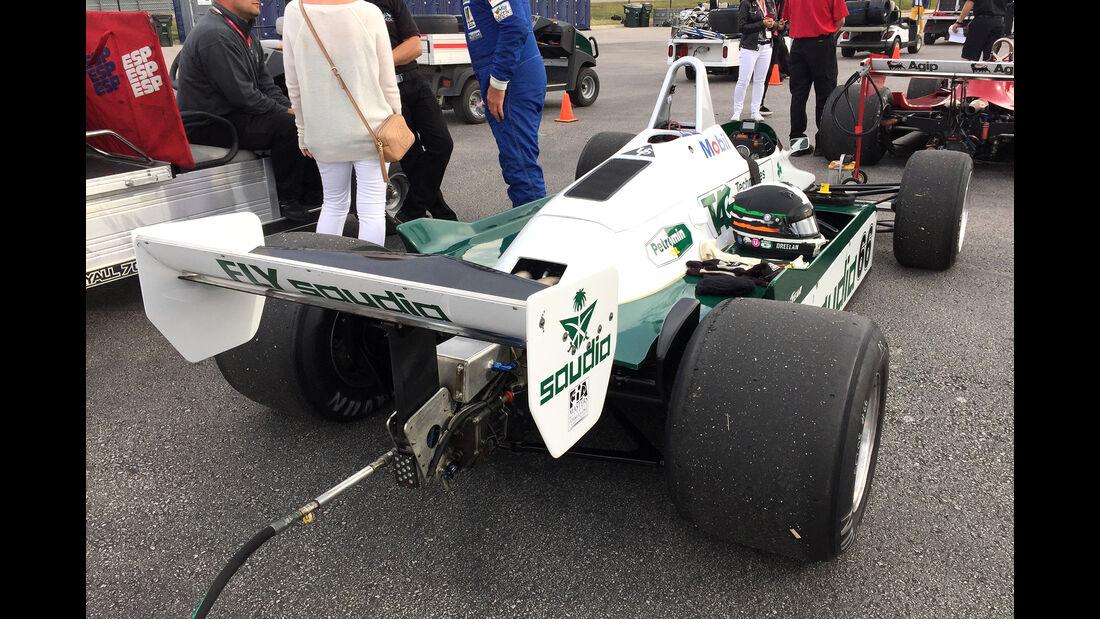 Williams FW08 - F1 Klassiker - Austin - GP USA 2016