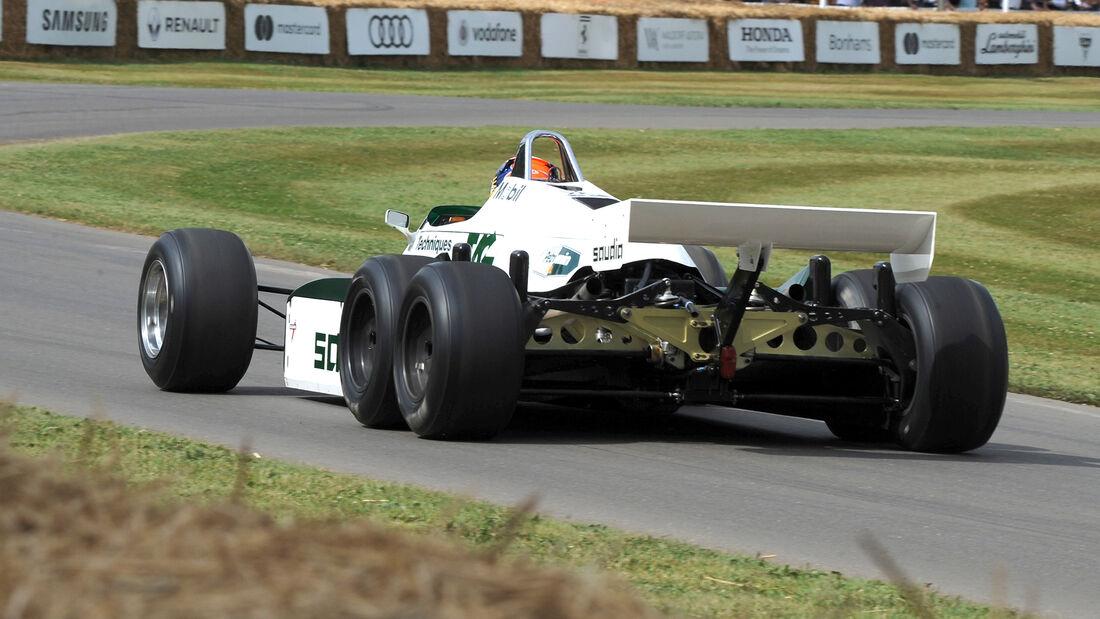 Williams FW08B - Goodwood 2017