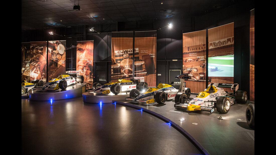 Williams FW09 & FW10 - Museum - Lager - 2017