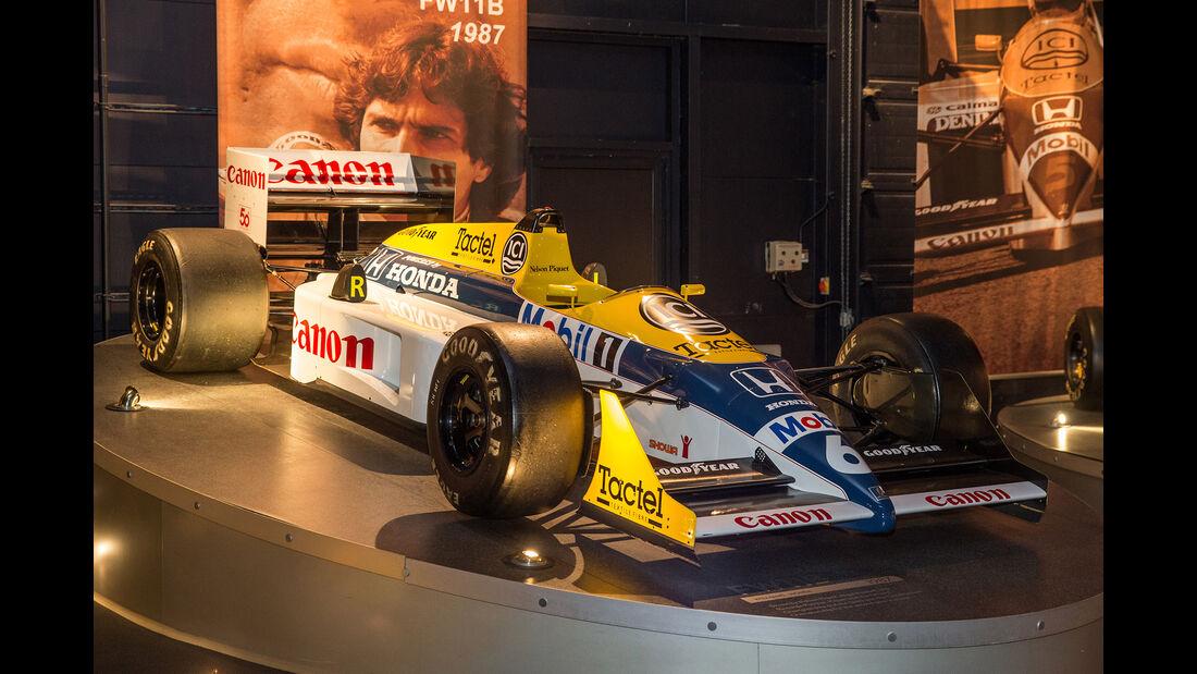 Williams FW11B - Museum - Lager - 2017