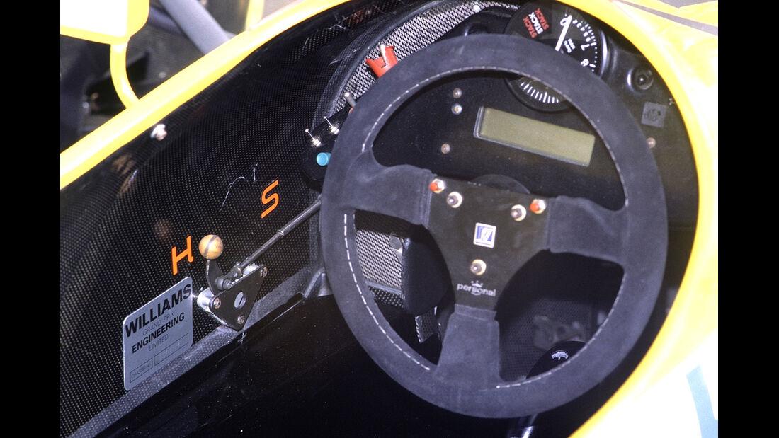 Williams FW11b Lenkrad 1987