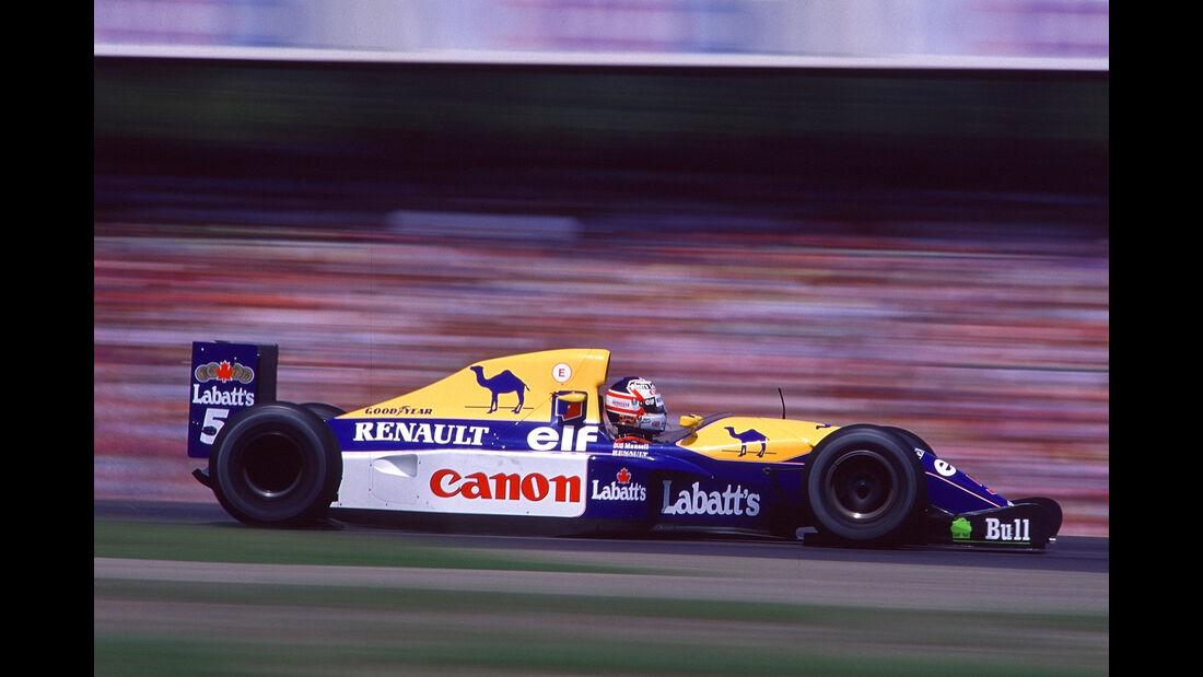 Williams - FW14B - Top 5 - F1-Autos