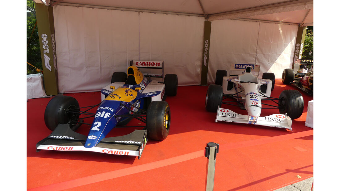 Williams FW15C - Stewart SF1 - Lotus E20 - GP China 2019 - Shanghai