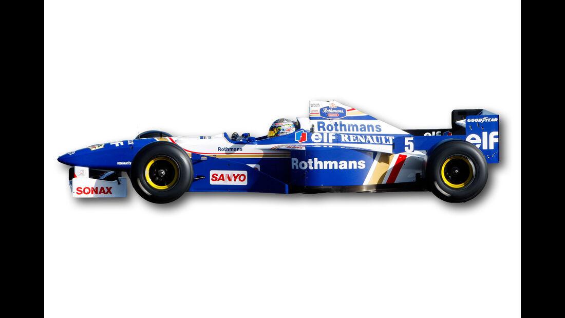 Williams FW18 - Beste F1-Autos