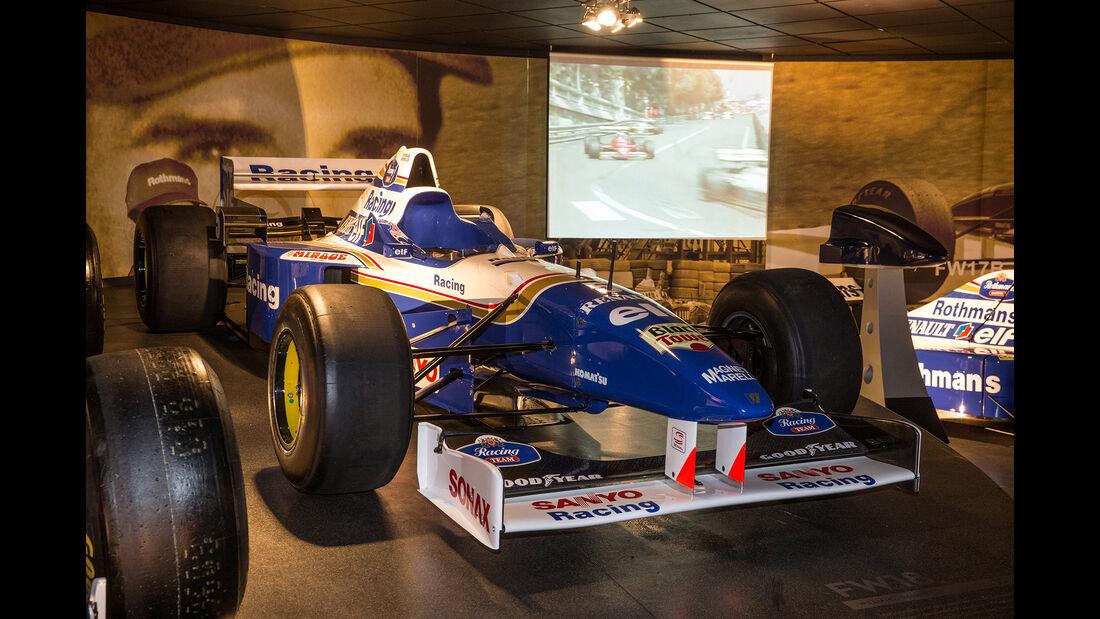 Williams FW18 - Museum - Lager - 2017