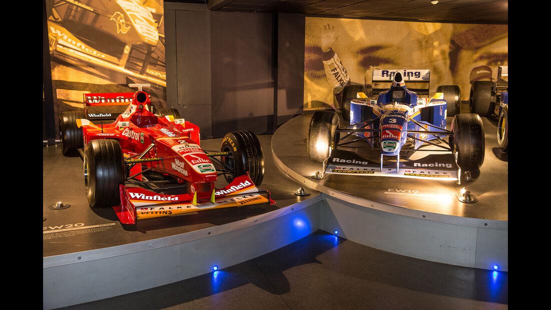 Williams FW20 & FW19 - Museum - Lager - 2017
