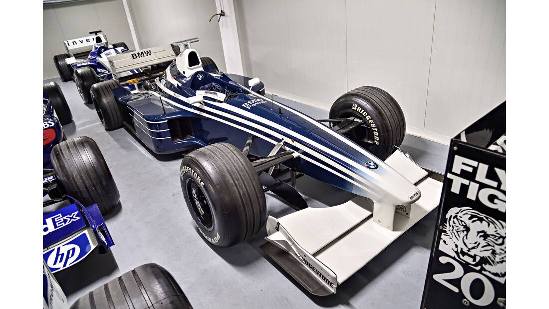 Williams FW21 - Baujahr 1999 - Formel 1 - Rennwagen - BMW Depot