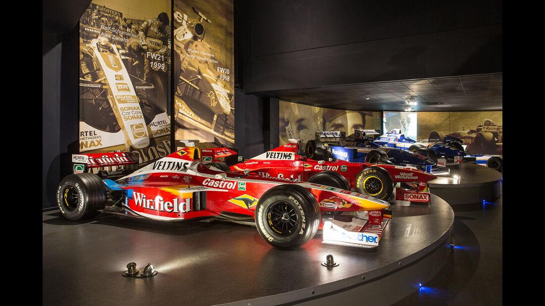 Williams FW21 & FW20 - Museum - Lager - 2017