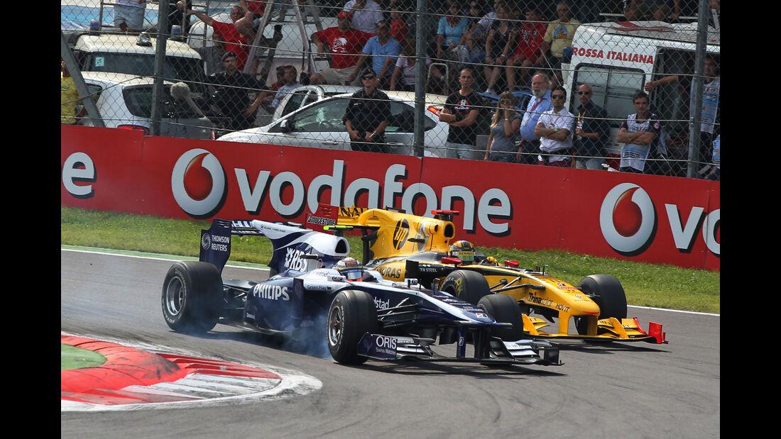 Williams FW32 - Renault R30 - Hülkenberg - Kubica - F1 2010