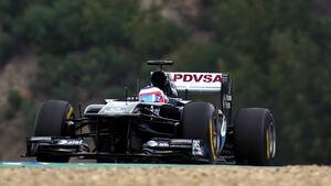 Williams FW33 Barrichello Formel 1 Test Barcelona 2011