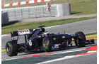 Williams FW33 Barrichello Formel 1 Test Barcelona 2011