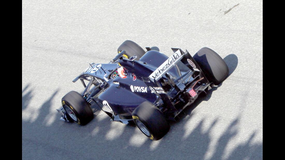 Williams FW33 Barrichello Test 2011