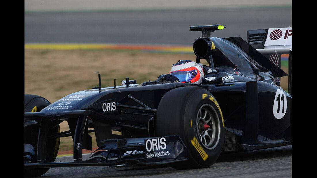 Williams FW33 Launch Valencia 2011