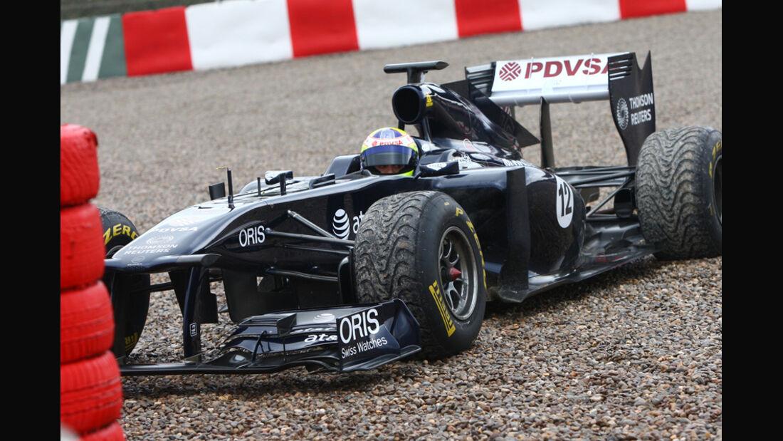 Williams FW33 Maldonado Formel 1 Test Barcelona 2011