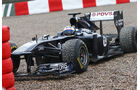 Williams FW33 Maldonado Formel 1 Test Barcelona 2011