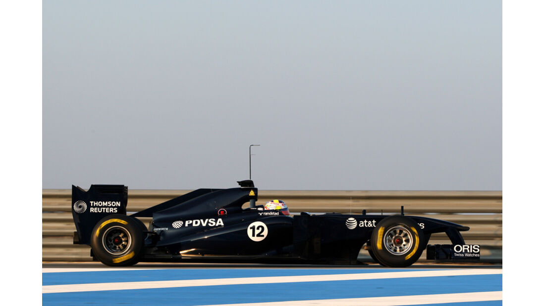 Williams FW33 Maldonado Test 2011