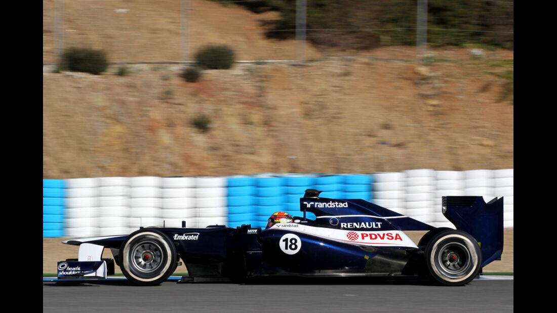 Williams FW34 Formel 1 Jerez 2012