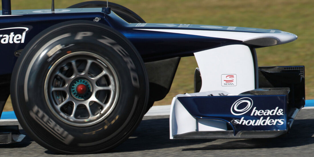 Williams FW34 Formel 1 Nase Jerez 2012