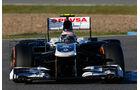 Williams FW34 Nase F1 Jerez 2013