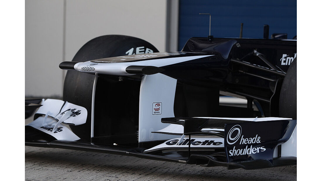 Williams FW34 Präsentation