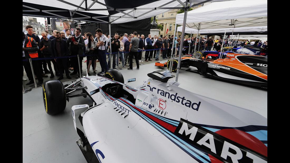 Williams FW36 - F1 Live Show - London - 2017