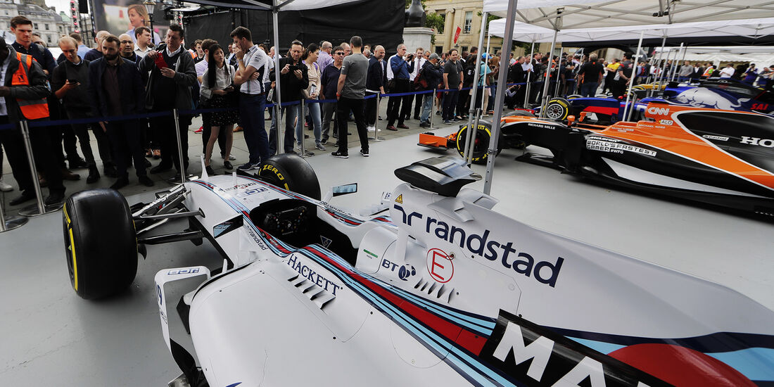 Williams FW36 - F1 Live Show - London - 2017