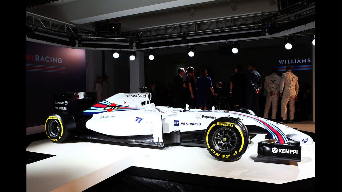 Williams FW36 Martini-Look