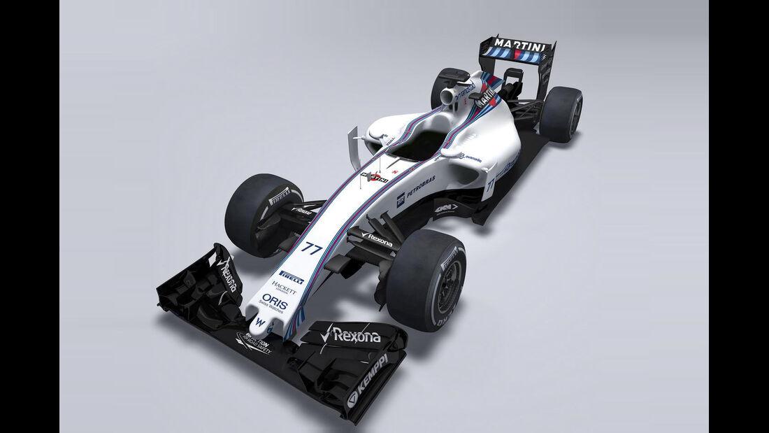 Williams FW37 - Formel 1 2015