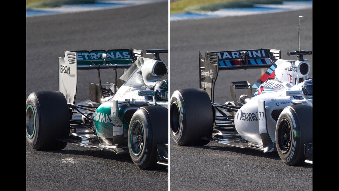 Williams FW37 - Formel 1 - Technik-Check - 2015
