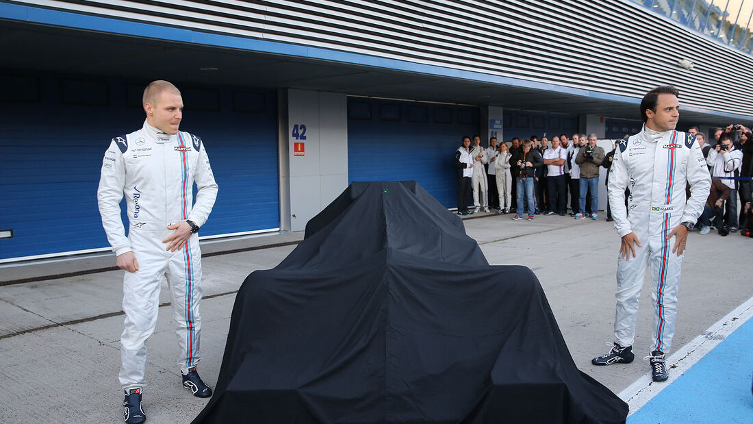 Williams FW37 Präsentation Jerez