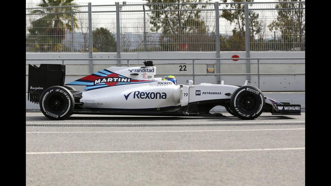 Williams FW38 - F1 2016 - Profil