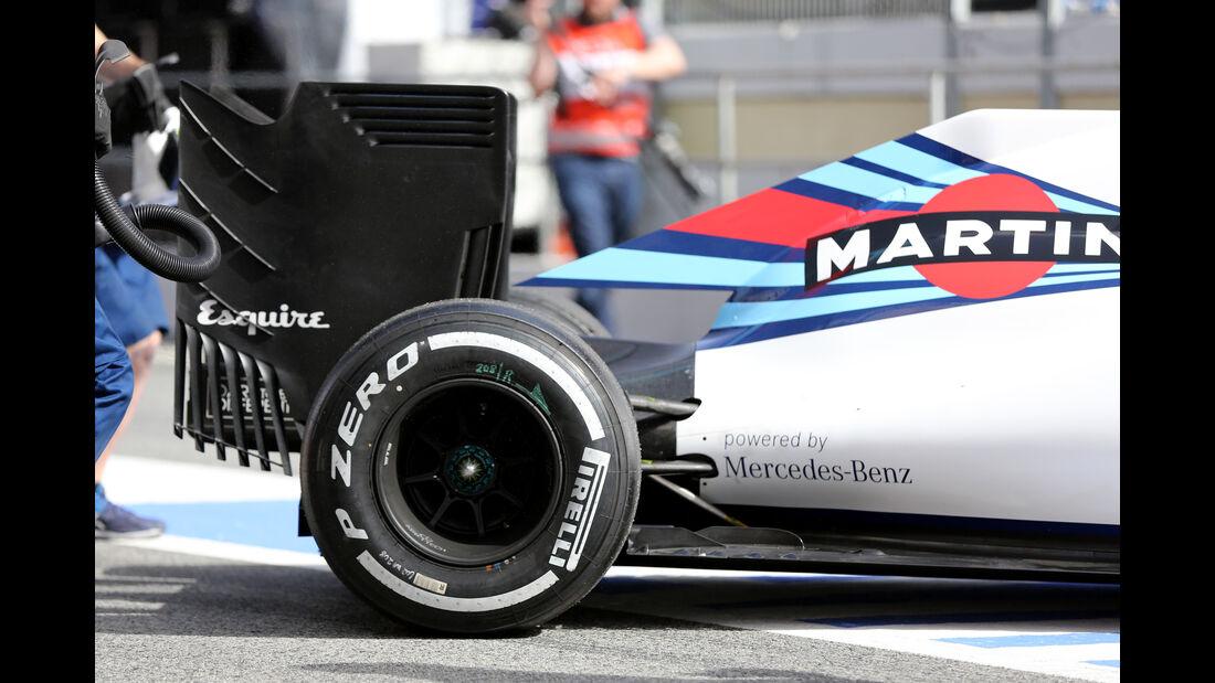 Williams FW38 - Technik - F1 2016