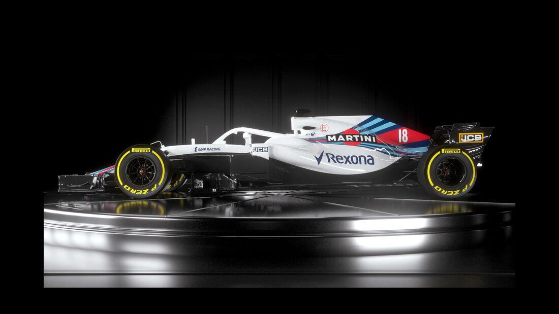 Williams FW41 - Launch - F1 - 2018