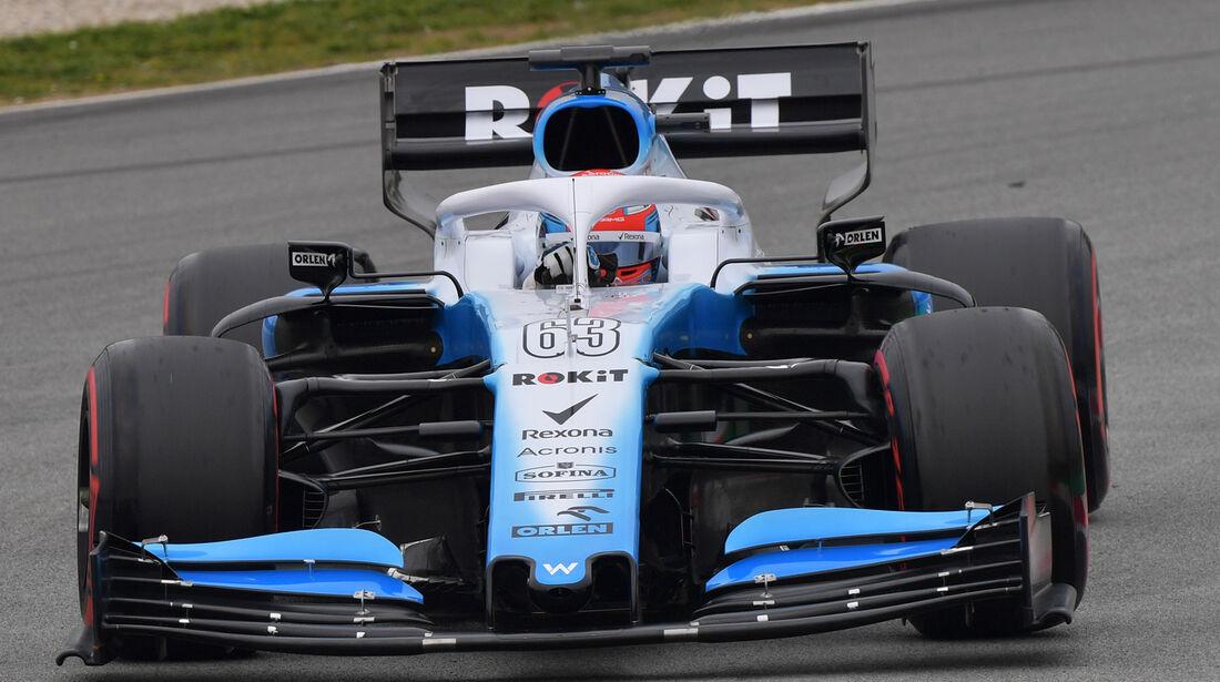 Williams FW42 - Barcelona-Tests - 2019