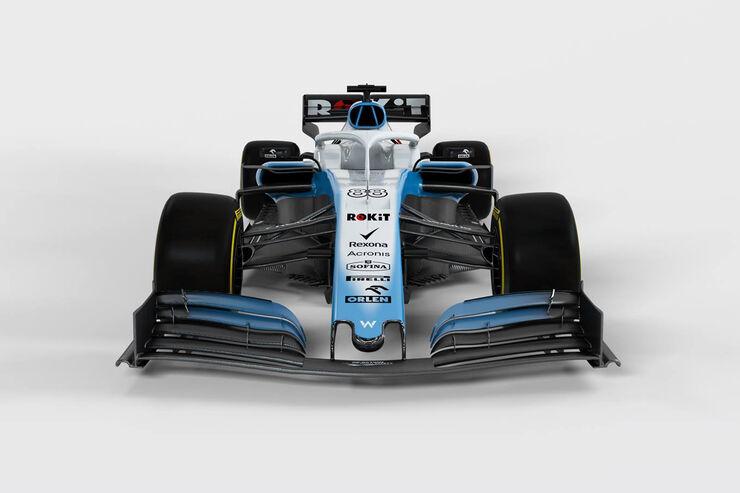 Williams FW42 - Formel-1-Auto - 2019