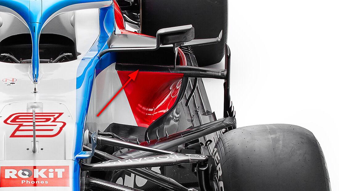 Williams FW43 - F1-Auto für 2020
